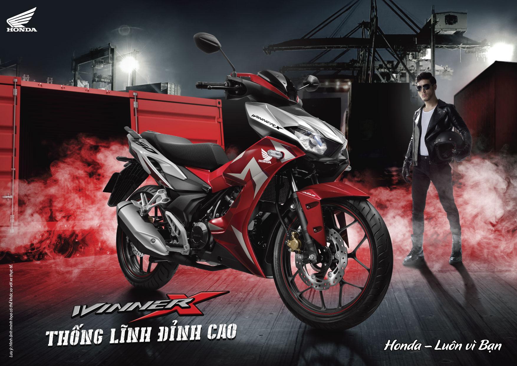 Honda Việt Nam giới thiệu siêu phẩm WINNER X hoàn toàn mới tại đại nhạc hội -Thống lĩnh đỉnh cao-