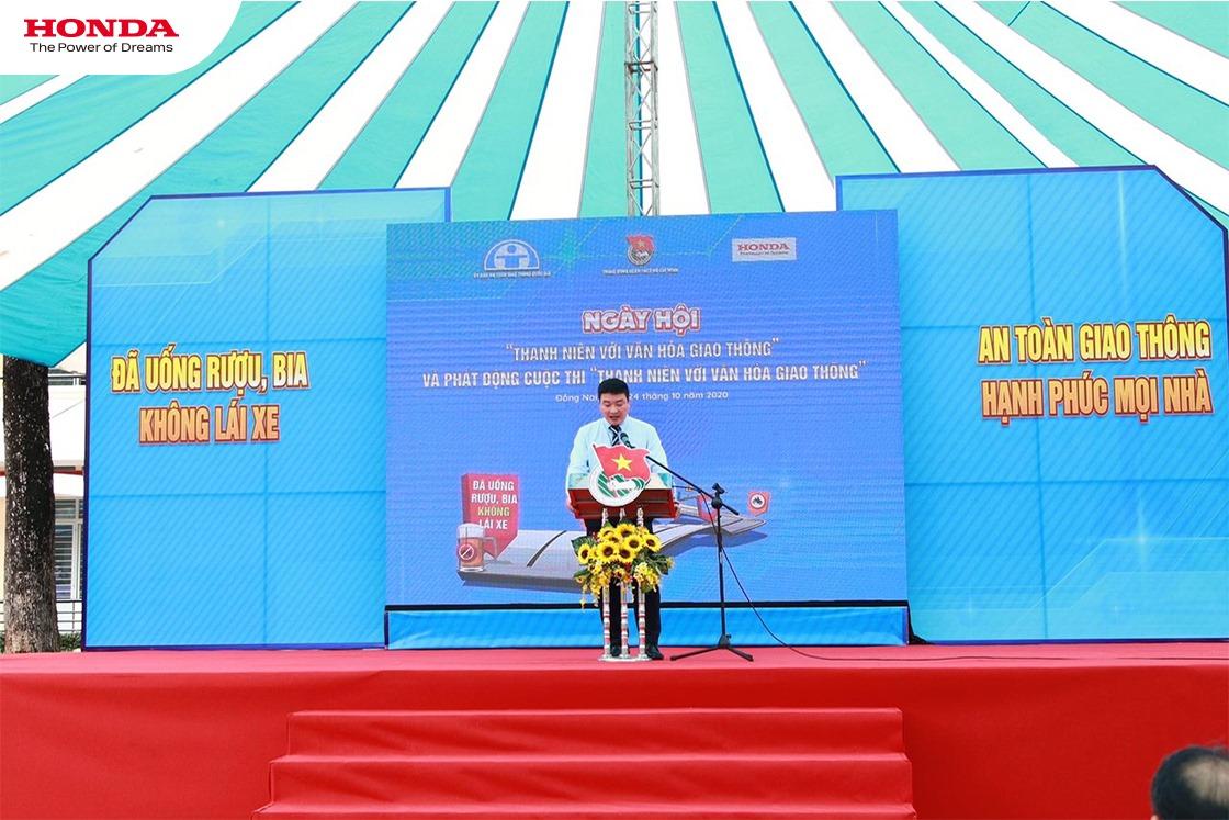 """Honda Việt Nam phát động cuộc thi """"Thanh niên với văn hóa giao thông"""" năm 2020."""