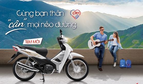"""Honda Việt Nam giới thiệu phiên bản mới Wave Alpha 110cc -""""Cùng bạn thân cân mọi nẻo đường"""""""