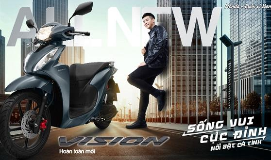 Honda Việt Nam giới thiệu Honda VISION hoàn toàn mới – Sống vui cực đỉnh –