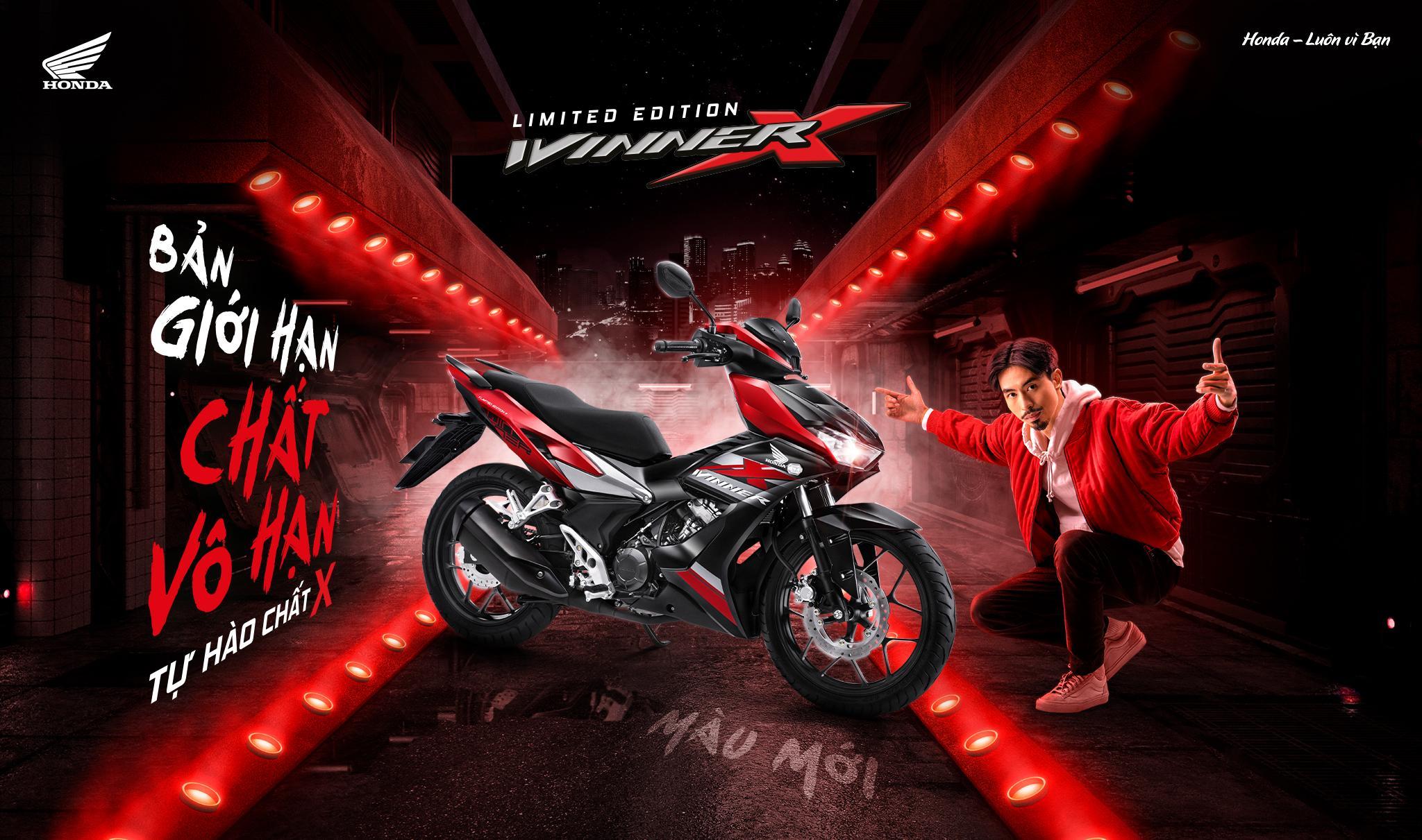 """Honda Việt Nam giới thiệu phiên bản màu giới hạn cho siêu phẩm WINNER X – """"Bản giới hạn – Chất vô hạn"""""""